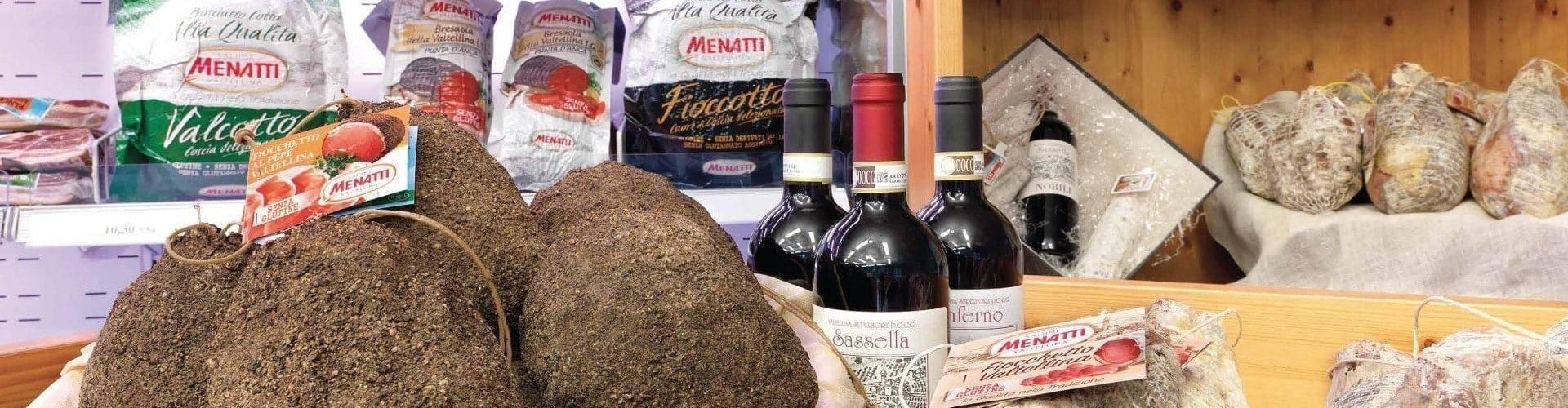 Spaccio Menatti in Valtellina a Piantedo