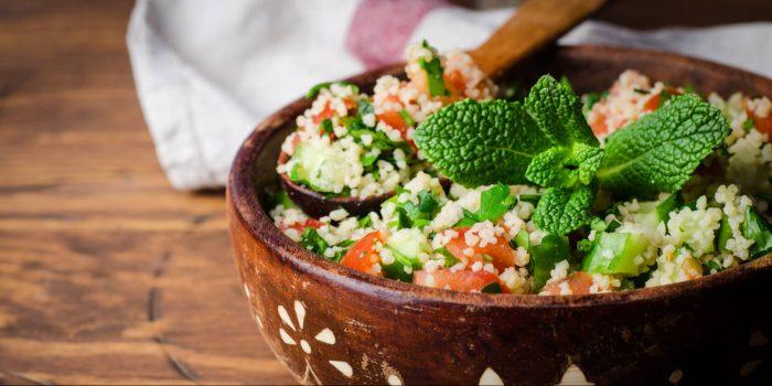 Cous Cous con Mortadella e zucchine