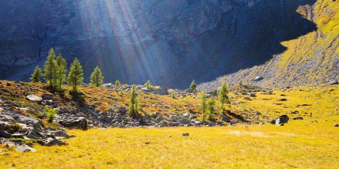 Da Poira al lago superiore di Spluga: itinerario