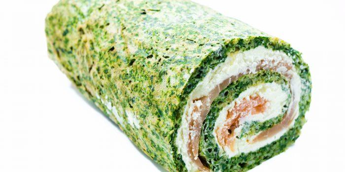 Rotolo di spinaci con Prosciutto Cotto Valcotto: ricetta