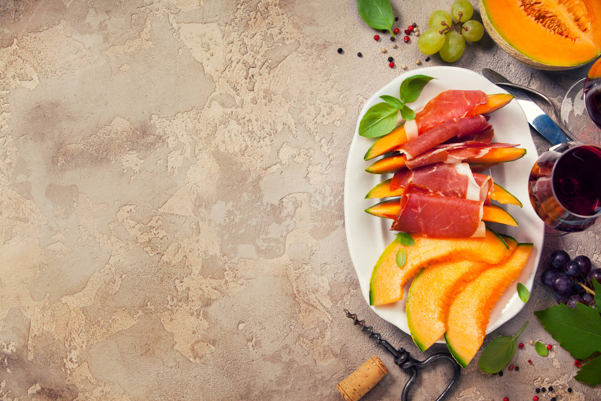 Abbinamento Speck-melone, alternativa al prosciutto crudo Menatti