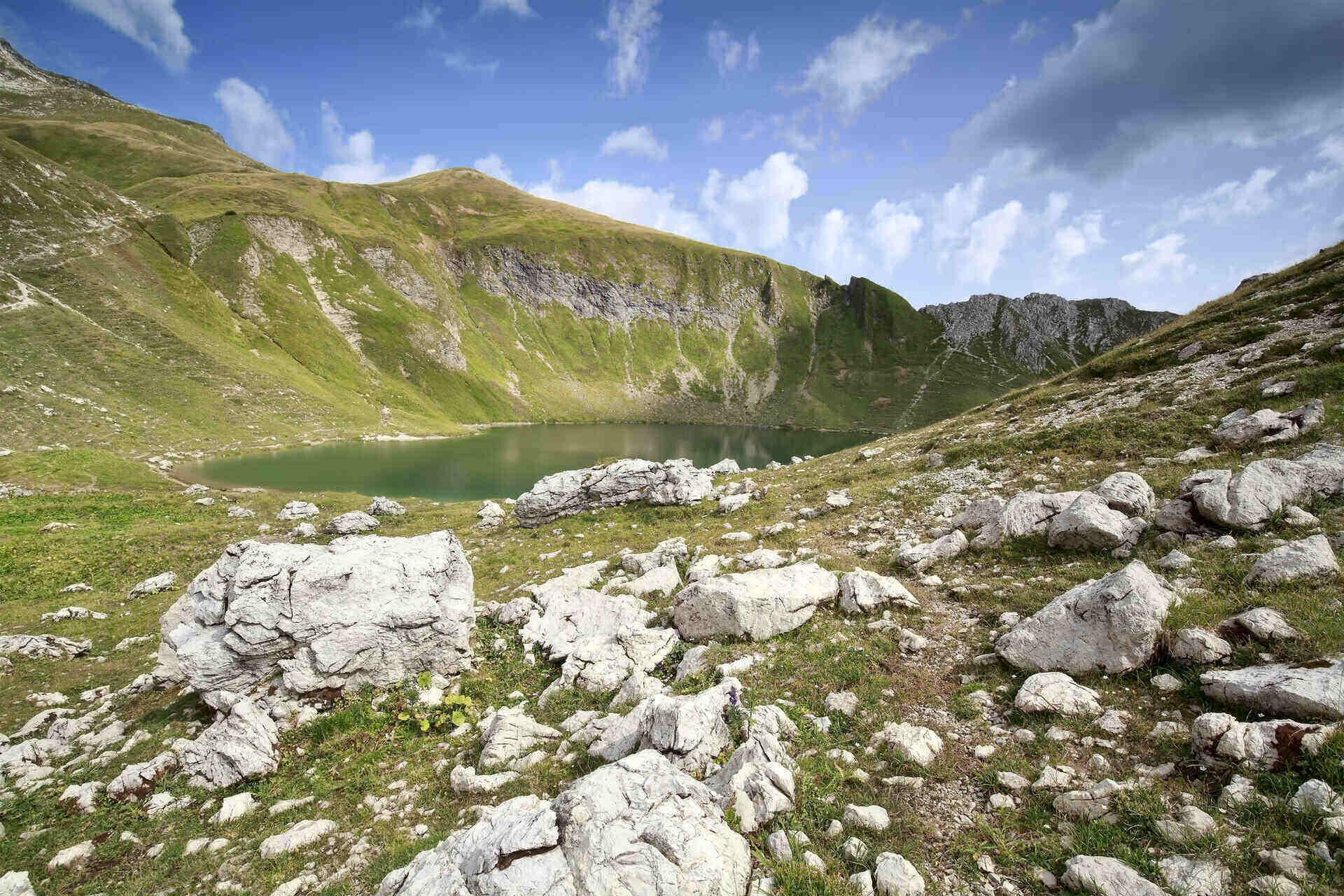 laghetti alpini di montagna in Alta Valtellina