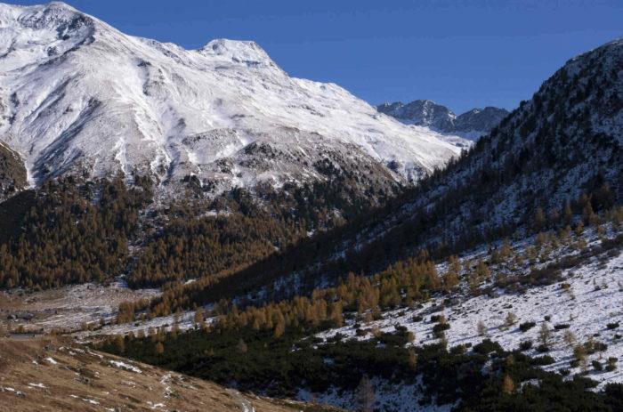 Percorso per il Lago del Monte a Livigno in Valtellina