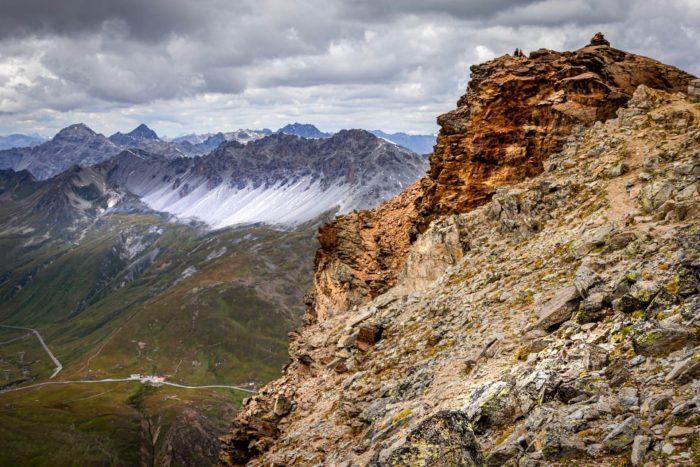 Itinerario passo Stelvio-monte Scorluzzo in Valtellina