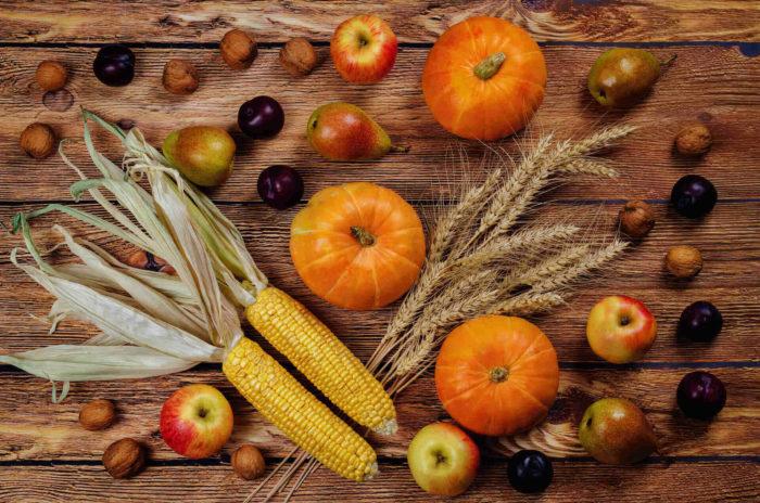 Frutta e verdura tipiche di novembre: alimentazione autunnale
