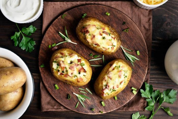 patate ripiene alla bresaola della valtellina - ricetta