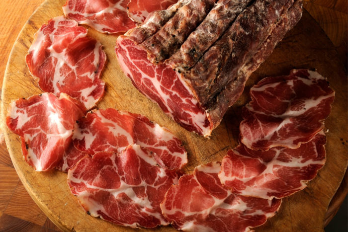 differenze tra lonza, coppa e capocollo