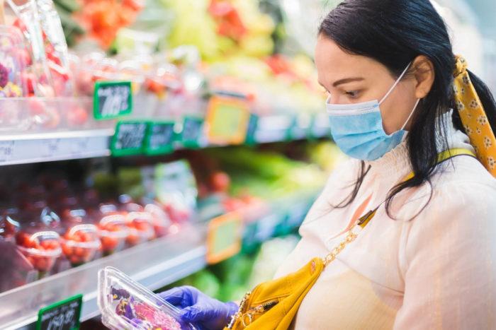 spesa e alimentazione sana ai tempi del covid: cibi sicuri anti contagio
