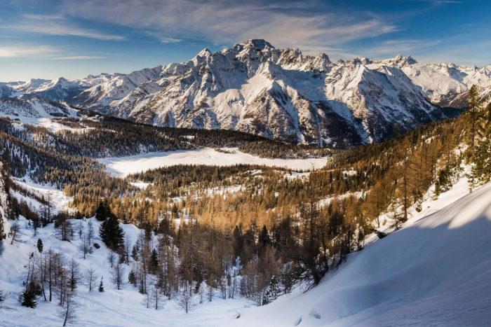 Valmalenco con le ciaspole: monte Disgrazia dal rifugio Tartaglione