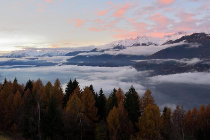 escursioni autunnali in Valtellina